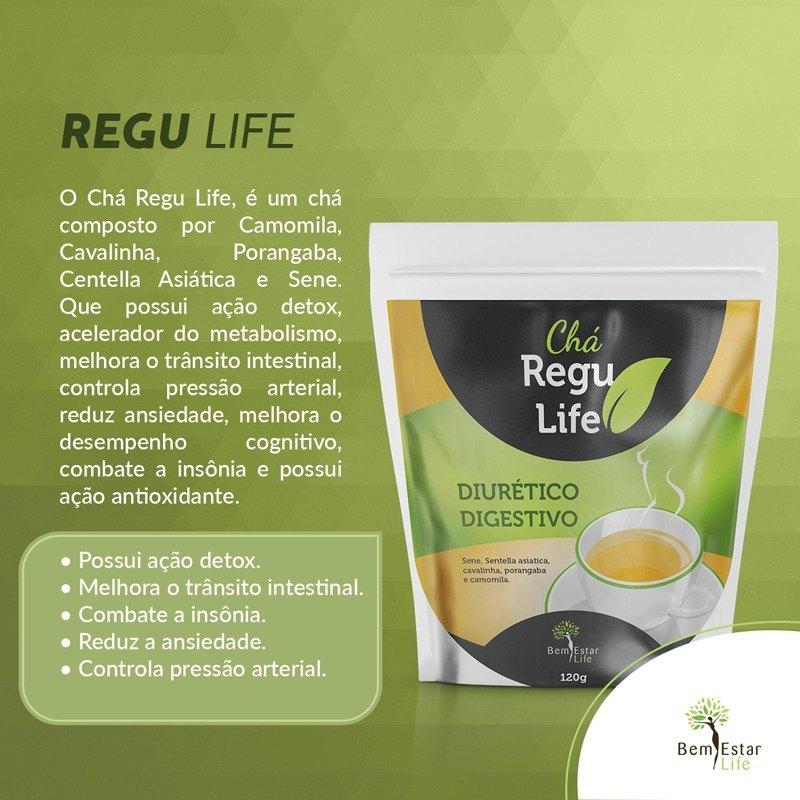 Chá Regu Life  (120 g)